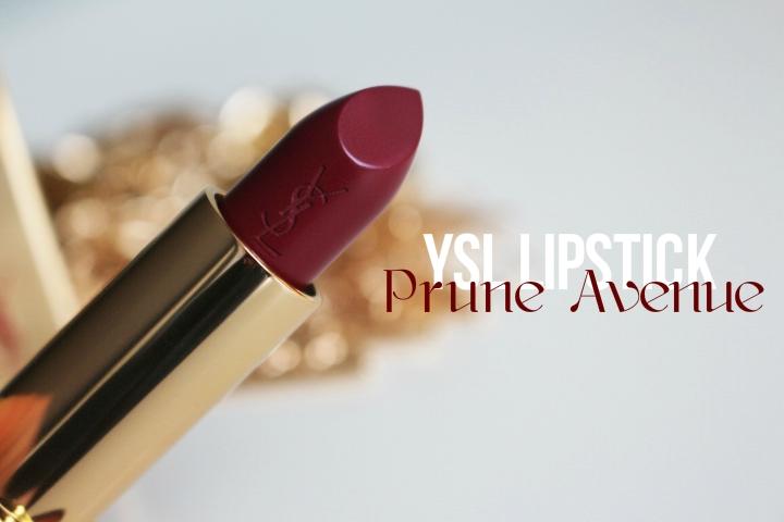 YSL lipstick | PruneAvenue