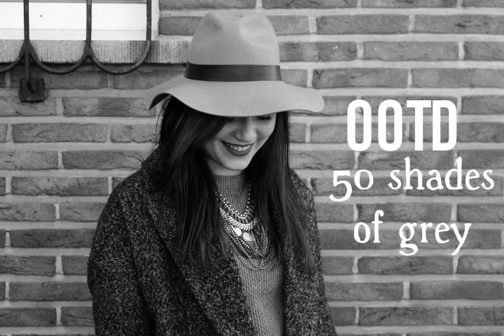 OOTD | 50 Shades of Grey