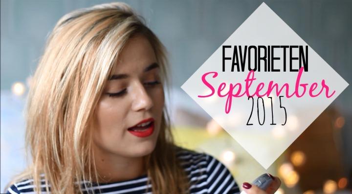 Favorieten September 2015!