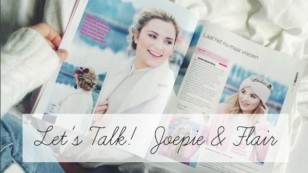 Let's Talk! | Joepie &Flair