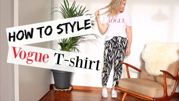Lookbook | How to style Vogue T-shirt