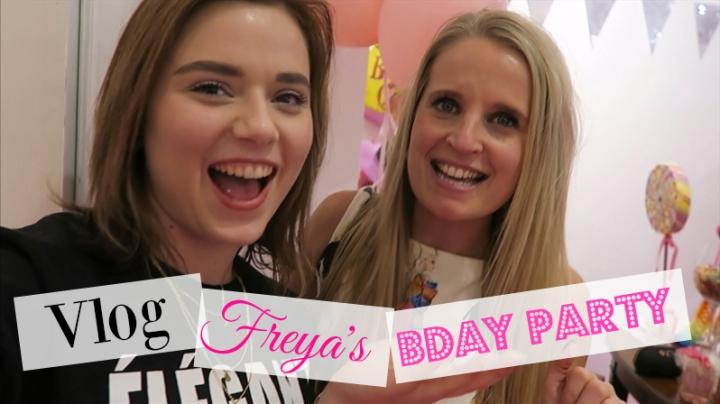 VLOG | Freya's Bday Party + Tutuchicdrankje!
