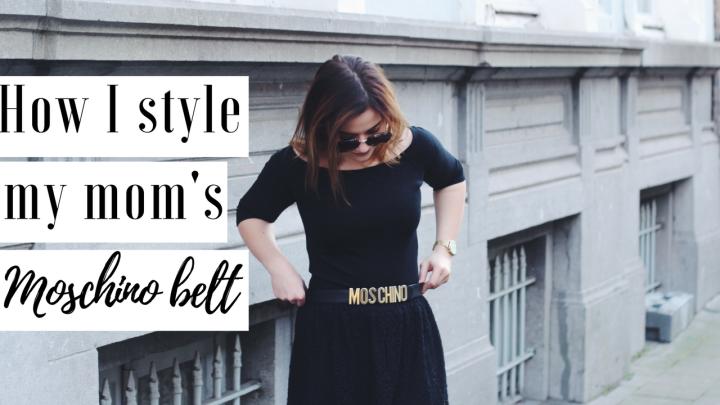 LOOKBOOK | How I Style My Mom's Moschinobelt