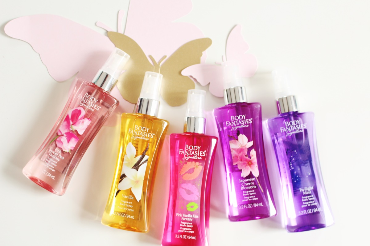Body Fantasies perfume body sprays
