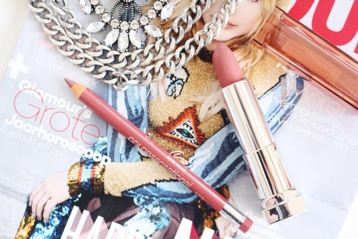 Maybelline Color Sensational 'Velvet Beige' Lip liner &Lipstick