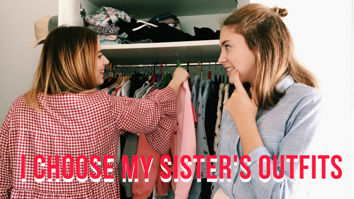 ✯ I Choose My Sister's Outfits ✯