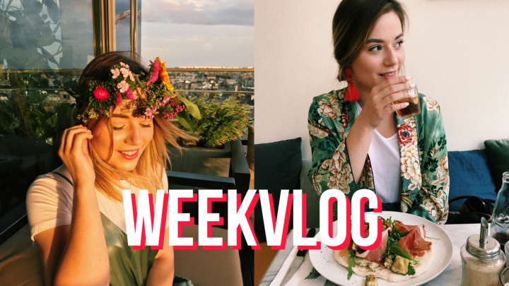 WEEKVLOG #17 Tomorrowland, Bloomon workshop & Take Off Bake Off Vlaanderen