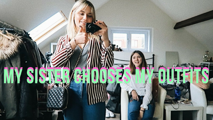 ✯ MY SISTER CHOOSES MY OUTFITS ✯